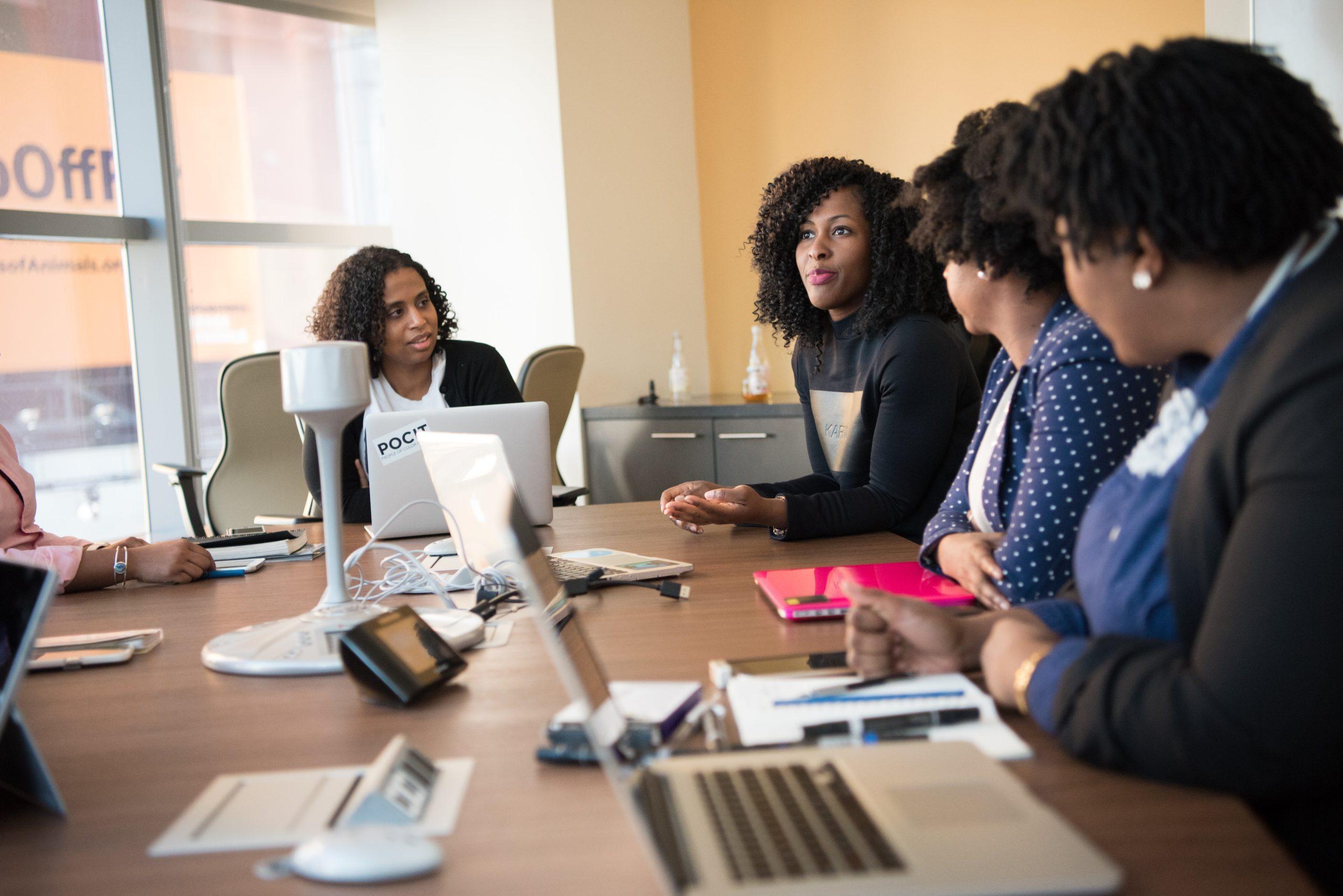 woman brainstorming
