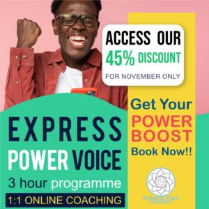 Power Voice Express Individual Coaching Programme